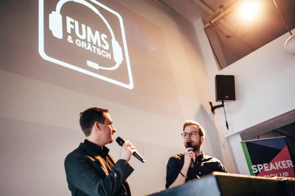FUMS & GRÄTSCH, Foto von Max Hartmann